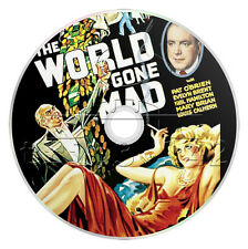 The World Gone Mad (1933) Crime, Drama, Mystery Movie / Film on DVD