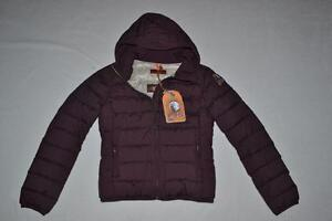 AUTHENTIC-PARAJUMPERS-JULIET-GIRLS-DOWN-JACKET-BORDEAUX-YOUTH-LARGE-BRAND-NEW