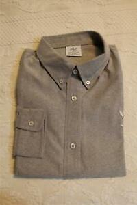 Wawa-Women-039-s-Long-Sleeve-Wrinkle-Free-Solid-Button-Down-Shirt-SC4-Grey-Size-XL