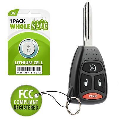 Car Flip Key Fob Keyless Entry Remote For 2008 2009 2010 2011 Dodge Dakota