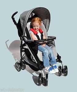 ASMi Gurtpolster 2er Set 13cm lang Kinderwagen Buggy Baby Kleinkind Sicherheit