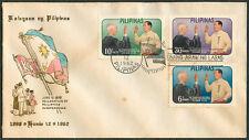1962 KALAYAAN NG PILIPINAS (Philippine Independence) FIRST DAY COVER - B
