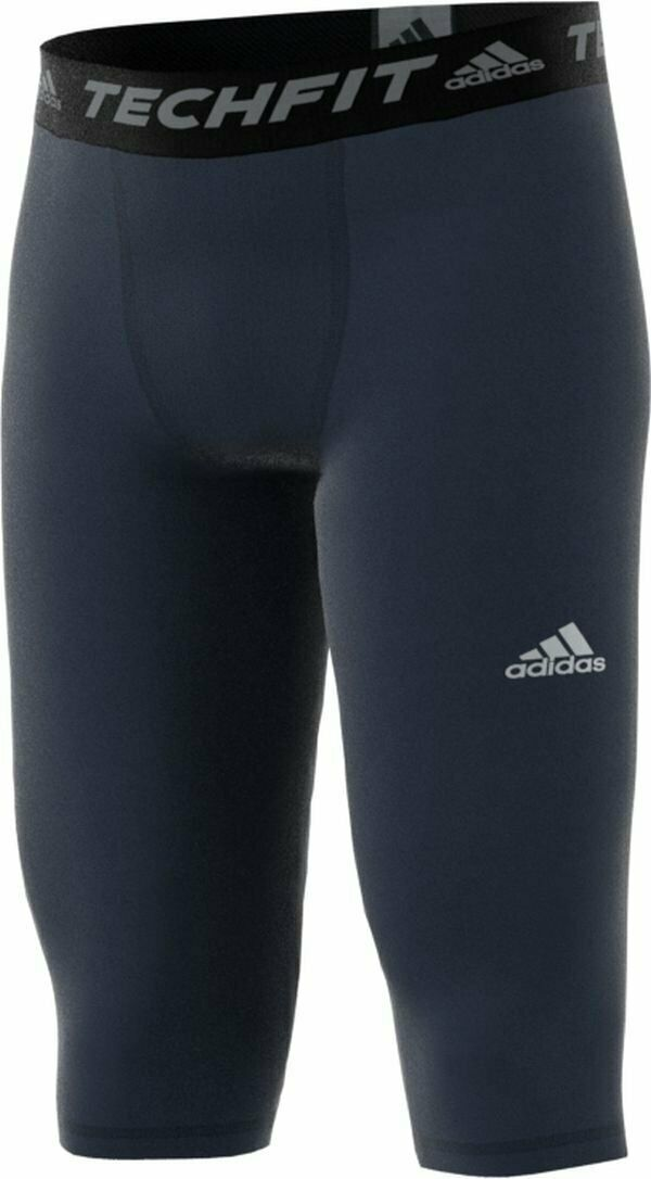 $32 Adidas TechFit 3//4 Base Tights Men/'s Size 2XL Black S95308 NWT