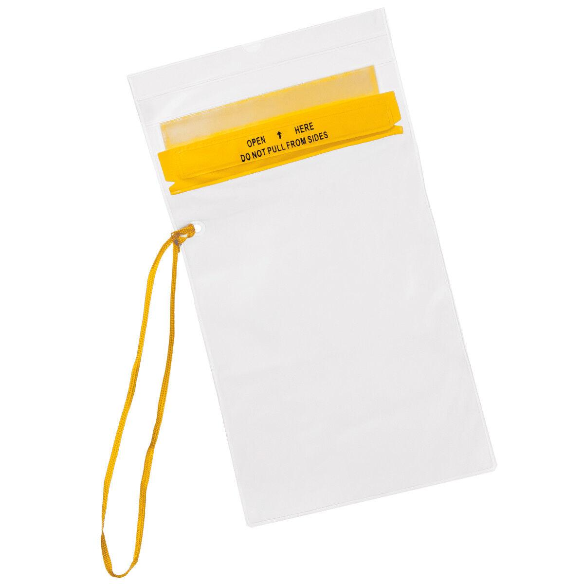 Fox Outdoor Moyenne Couverture Document Lanière Boucle Boucle Boucle ID étui Transparent e49a50