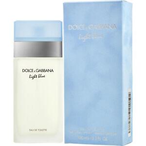 Dolce-amp-Gabbana-Light-Blue-for-Women-3-3oz-100ml-Eau-De-Toilette-New-In-Open-Box