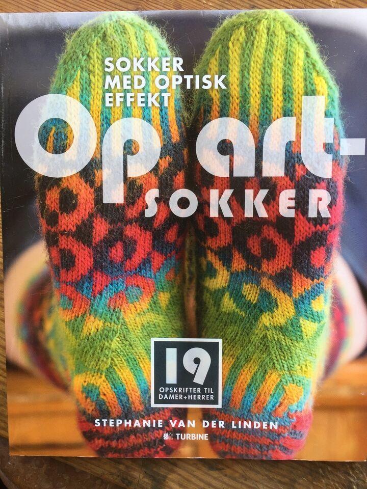 OP ART-sokker - med optisk effekt - 159 s - 2015, Stephanie