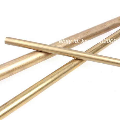 2pcs Φ24mm x 100mm H62 Brass Round Rod D24mm x 100mm long Solid Lathe Bar cut