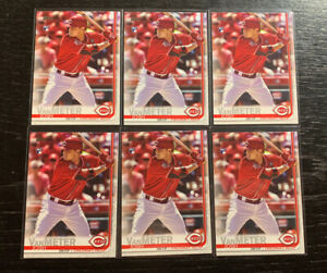 Josh-VanMeter-RC-Lot-6-2019-Topps-Update-US180-Cincinnati-Reds