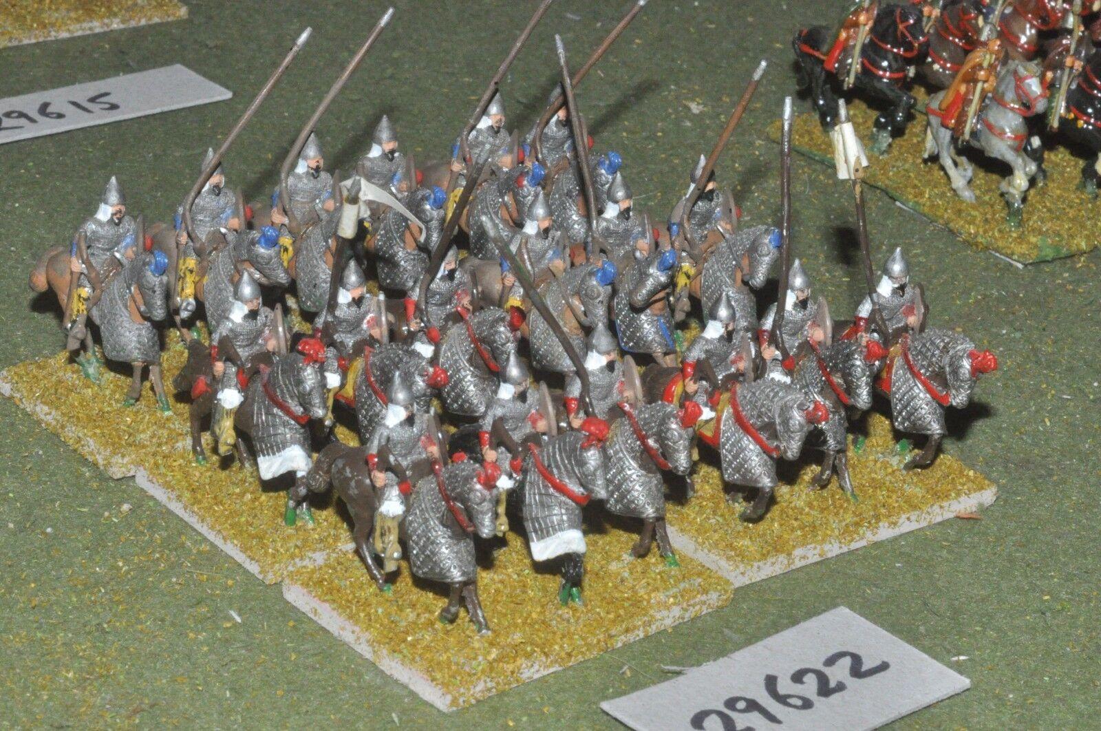 25mm mittelalterlichen   sarazenen - schwere 18 zahlen - cav (29622)