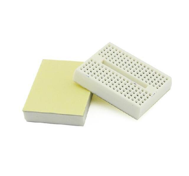 Mini White Solderless Prototype Breadboard 170 Tie-points for Arduino Shield