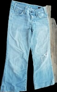 Citizens-of-Humanity-Distressed-Jeans-Size-25-Petite-lowrise
