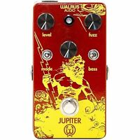 Walrus Audio Jupiter Fuzz True Bypass Guitar Effects Fx Stompbox Pedal