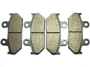 Front Brake Pads For Honda GL 1500 Goldwing Brakes 1988-2000 SET GL1500 SINTERED