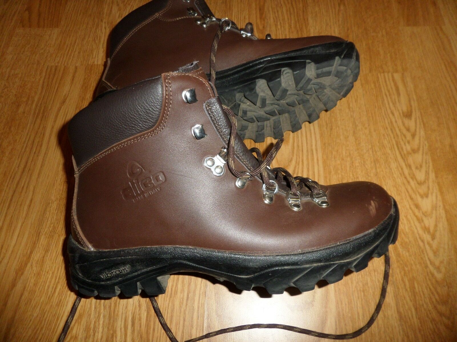 ALICO BACKCOUNTRY LEATHER HIKING BOOTS MEN'S 10.5 M RETAIL 280