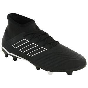 Dettagli su Adidas Predatore 18.2 Fg Scarpe da Calcio Uomo Tacchetti Sportive DB1996