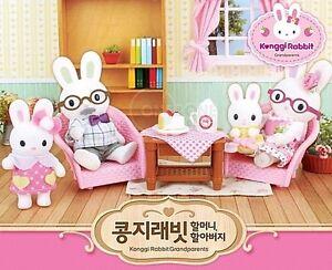 Korea sylvanian Families Konggi Rabbit Grandfather