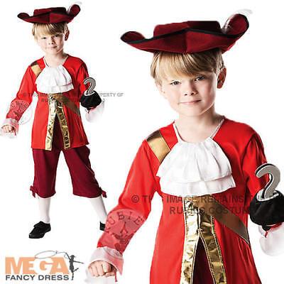 Cappello Capitan Uncino Bambino Costume Libro Settimana Pirata Bambini Vestito