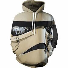 Women//Men Star Wars White Warrior 3D Print Casual Hoodie Sweatshirt Pullover H93