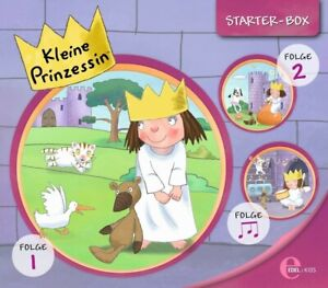 KLEINE-PRINZESSIN-1-STARTER-BOX-3-CD-NEW