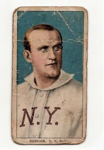 1909-11  T-206   BULL DURHAM  SWEET CAPORAL  CIGARETTES 150 SUBJECT