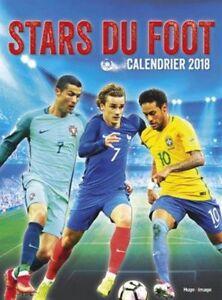 Calendrier Stars Du Foot 2018 Hugo Haut Niveau De Qualité Et D'HygièNe