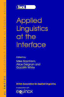 1 of 1 - Applied Linguistics at the Interface (British Studies in Applied Linguistics) (B