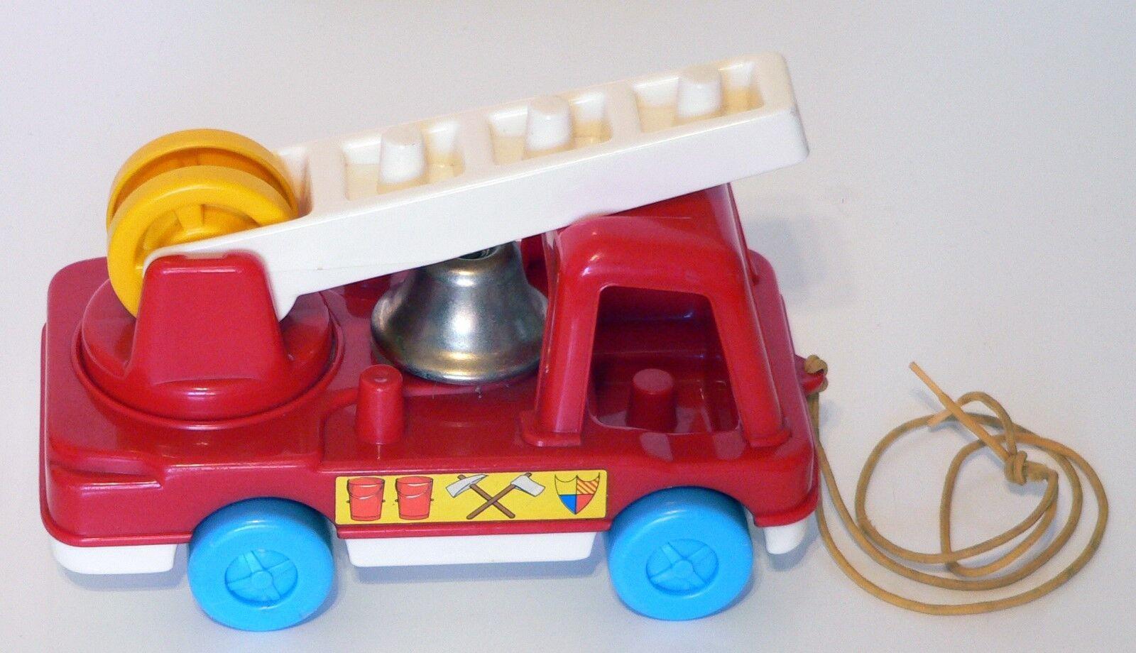 Vintage 1975 Live-n-Learn Matchbox Fire Engine - Matchbox Live-n-Learn a208ef