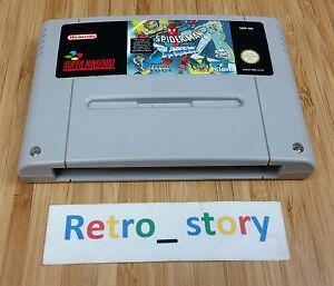 Super-Nintendo-SNES-Spider-Man-X-Men-Arcade-039-s-Revenge-PAL