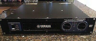 Effektforstærker (Hifi, studie og PA)), Yamaha CP-2000