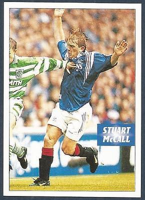 PANINI SCOTTISH FOOTBALL LEAGUE 95 #285-RANGERS//SCOTLAND-EVERTON-STUART McCALL