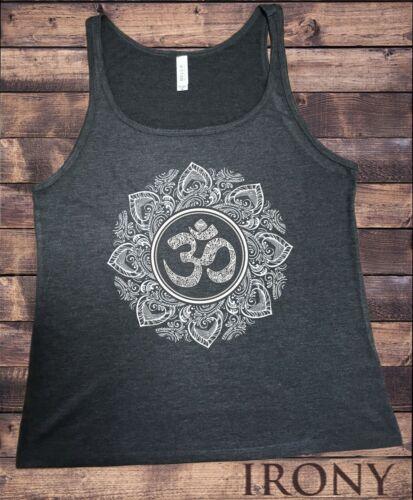 Jersey Tank Top Om God Line Art Namaste Peace Ethnic Zen India JTK1657