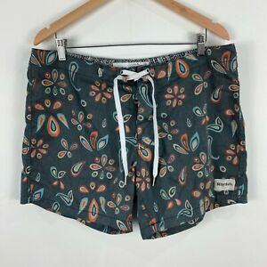 Rhythm-Mens-Board-Shorts-36-Multicoloured-Geometric-Drawstring-Floral