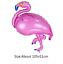 Flamingo Theme Summer Party Decor Banner Paper Garland Cup Foil Balloon Supplies