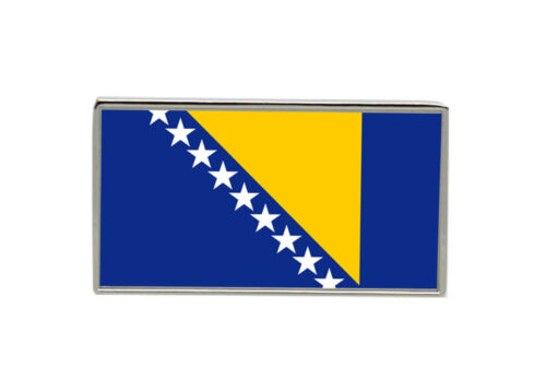 Bosnia and Herzegovina Flag Lapel Pin Badge