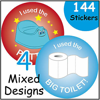 Potty Training Reward Stickers Toddler / Kids Toilet Seat Development Learning
