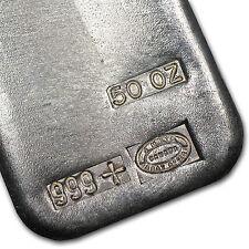 50 oz Johnson Matthey Silver Bar - Canada - SKU #14259