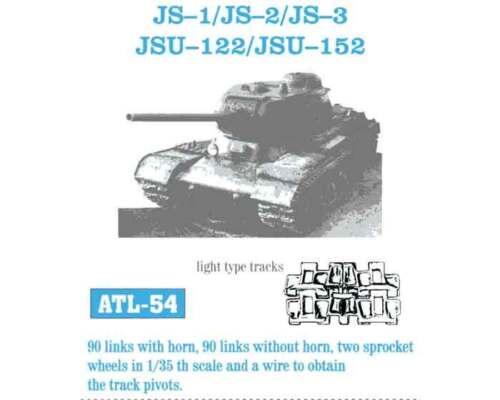 1//35 ATL54 FreeShip FRIULMODEL METAL TRACKS for SOVIET IS2 IS3 /& ISU152 ISU122
