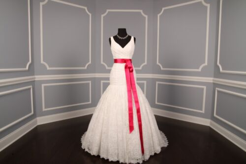 Fuschia Double Faced Satin Ribbon Sash Bridal Wedding Bridesmaid Brand New