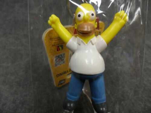 D/'oh Homer Simpson Keychain The Simpsons NEW Monogram Key Chain Ring