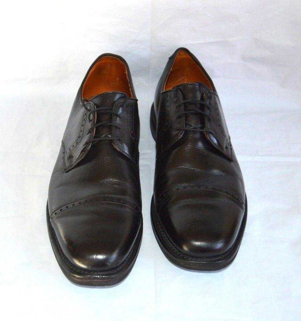 ALLEN EDMONDS new shoes SHOES MENS SIZE 11.5 BLACK LACES PERRY