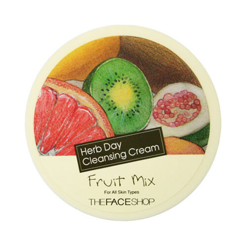 [THE FACE SHOP] Herb Day Cleansing Cream - 150ml #Fruit Mix ROSEAU