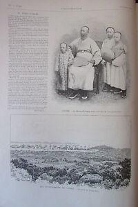 China-Li-Hong-Chiang-Versand-Tche-Foo-Events-Korea-Gravur-L-Illustration-1894