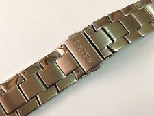 21MM SEIKO STAINLESS STEEL GENTS WATCH STRAP STRAIGHT END (SE5)