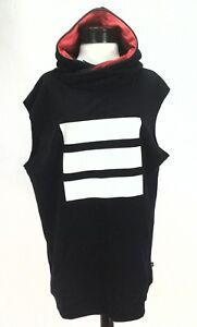 0d45104bcc383 ADIDAS Berlin Dress Hooded Sweatshirt Trefoil 3 Stripe AB2671 Black ...