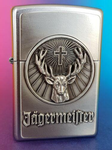 Zippo Lighter ⁕ Jägermeister Emblem ⁕ 1900776 ⁕ Neu New OVP ⁕ A472