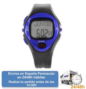 Pulsometro-reloj-contador-de-calorias-para-deportes-color-azul-Envio-express