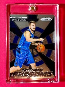 Luka Doncic PANINI PRIZM FRESHMAN PHENOMS RC 2018-19 ROOKIE INVESTMENT - Mint!