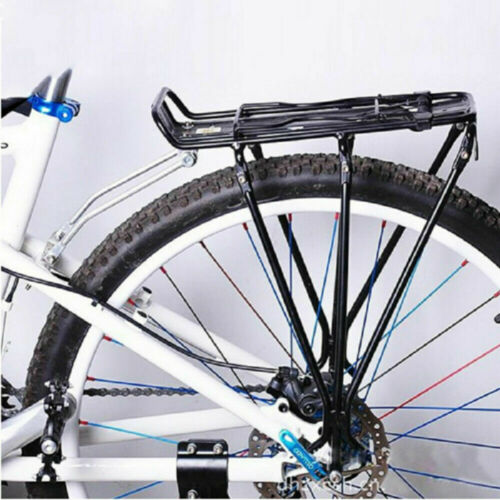 New Alloy Bicycle Rear Rack Bike Carrier Bracket Pannier Luggage Bag Cycle Seat