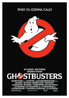 Ghostbusters (1984) V2 - A2 A3 A4 POSTER ***RETOUCHED AND RESTORED***