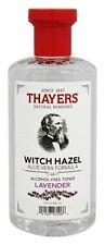 Thayers Witch Hazel Alcohol-Free Toner LAVENDER Aloe Vera Formula - 12 oz